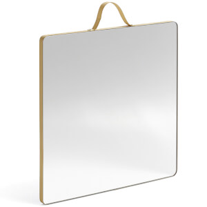 HAY Ruban Square Mirror - Large - Nude