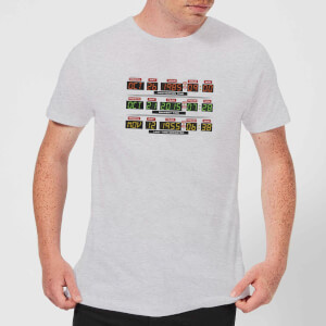 Back to the Future Destination Clock T-shirt - Grijs