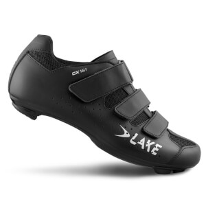 Lake CX161 Wide Fit Road Shoes - Black