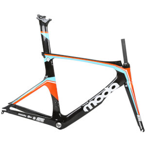 MODA INTERVAL CARBON TRI/TIME TRIAL FRAMESET - ORANGE/BLACK/WHITE
