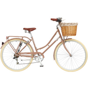 "Ryedale Harriet Ladies 26"" Wheel 6 Speed Traditional Bike Latte"