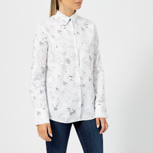 PS Paul Smith Women's Pauls Sketch Shirt - White
