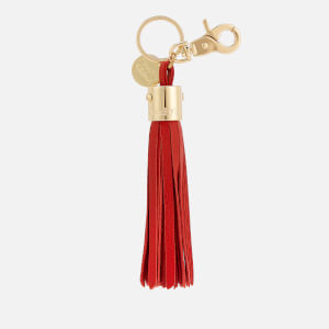See By Chloé Women's Tassel Keyring - Red Sand