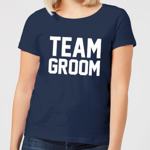 Team Groom Women's T-Shirt - Navy
