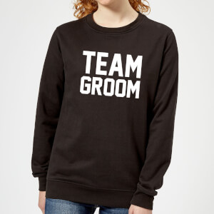 Team Groom Women's Sweatshirt - Black