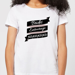 Brides Entourage Women's T-Shirt - White