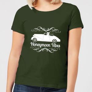 Honeymoon Vibes Women's T-Shirt - Forest Green