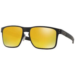 Oakley Holbrook Metal Sunglasses - Matte Black/24k Iridium