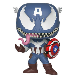 Marvel Venomized Captain America Funko Pop! Vinyl