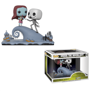 NIGHTMARE BEFORE CHRISTMAS JACK E SALLY POP! MOVIE MOMENT