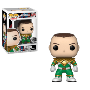 Figura Funko Pop! Ranger Verde Tommy - Power Rangers