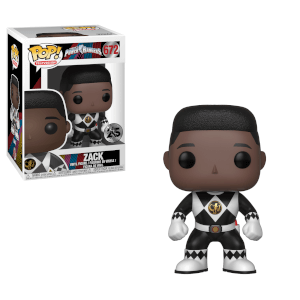 Power Rangers Black Ranger Zack Pop! Vinyl Figur