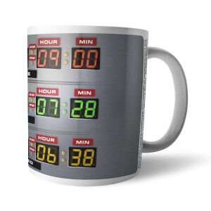 Tasse Destination Time - Retour vers le Futur