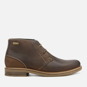 Barbour Men's Readhead Leather 2-Eye Chukka Boots - Choco