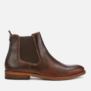 Barbour Men's Bedlington Leather Chelsea Boots - Mahogany