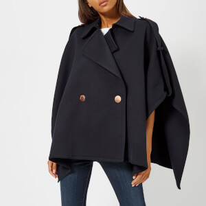 See By Chloé Women's Double Breasted Jacket - Ink Navy