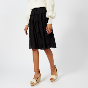 See By Chloé Women's Midi Skirt - Black