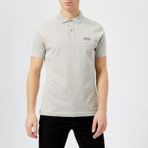 Barbour International Men's Road Polo Shirt - Grey Marl