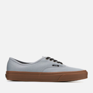 Vans Men's Authentic Gum Sole Trainers - Alloy/Black