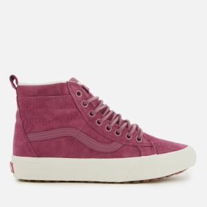 Vans Women's Sk8-Hi Met Water Resistant Trainers - Rose/Marshmallow
