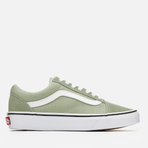 Vans Women's Old Skool Trainers - Desert Sage/True White