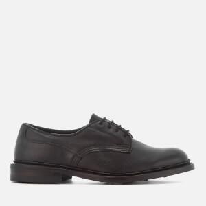 Tricker's Men's Woodstock Leather Derby Shoes - Black