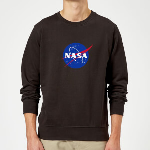 Sweat Homme Logo Insignia NASA - Noir