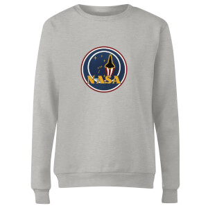 NASA JM Patch Women's Sweatshirt - Grey