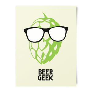 Beershield Beer Geek Art Print