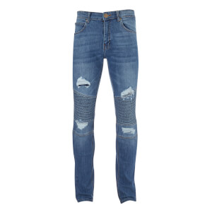 Crosshatch Men's Coramba Jeans - Light Wash
