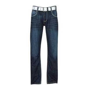 Crosshatch Men's New Baltimore Jeans - Dark Wash