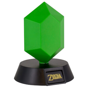 The Legend of Zelda Green Rupee Lamp