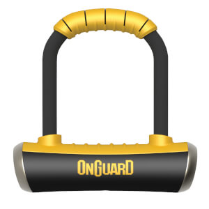 OnGuard Pitbull Mini Standard Shackle U-Lock - 90mm x 140mm x 14mm