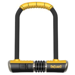 OnGuard Bulldog U-Lock Combo - 115mm x 230mm x 13mm