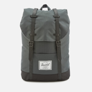 Herschel Supply Co. Men's Retreat Backpack - Dark Shadow/Black