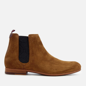 Ted Baker Men's Saldor Suede Chelsea Boots - Tan