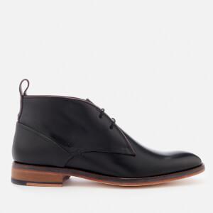 Ted Baker Men's Deksta Leather Desert Boots - Black