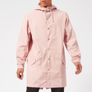 RAINS Long Jacket - Rose