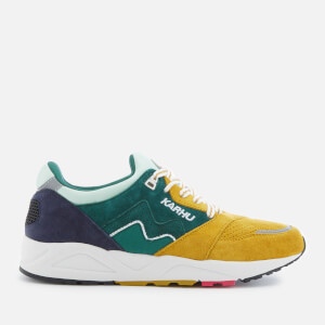 Karhu Men's Aria Runner Trainers - June Bug/Green Sulphur