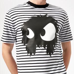McQ Alexander McQueen Men's Dropped Shoulder Mad Chester T-Shirt - Black/White Stripes: Image 4