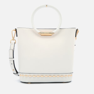 MICHAEL MICHAEL KORS Women's Herron Medium Bucket Bag - Optic White