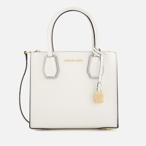 MICHAEL MICHAEL KORS Women's Mercer Medium Satchel - Optic White