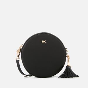 MICHAEL MICHAEL KORS Women's Small Grain Pebble Leather Canteen Bag - Black
