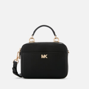 MICHAEL MICHAEL KORS Women's Mini Guitar Strap Cross Body Bag - Black