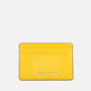MICHAEL MICHAEL KORS Women's Mercer Pebble Card Holder - Sunflower