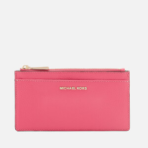 MICHAEL MICHAEL KORS Women's Mercer Pebble Large Slim Card Case - Rose Pink