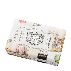 Panier des Sens Shea Butter Soap Cotton Flower
