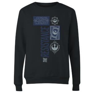 Star Wars The Resistance Black Women's Sweatshirt - Black