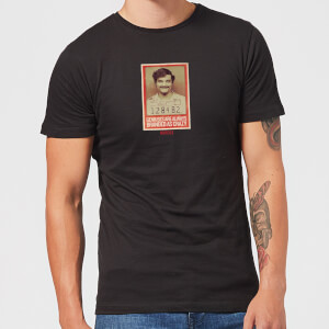 Narcos Geniuses Are Always Crazy T-shirt - Zwart