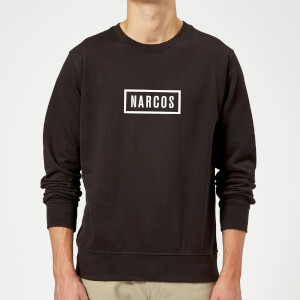 Narcos Box Logo Black Sweatshirt - Black